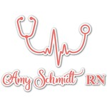 Nurse Graphic Decal - Custom Sizes (Personalized)
