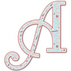Nurse Letter Decal - Custom Sizes (Personalized)