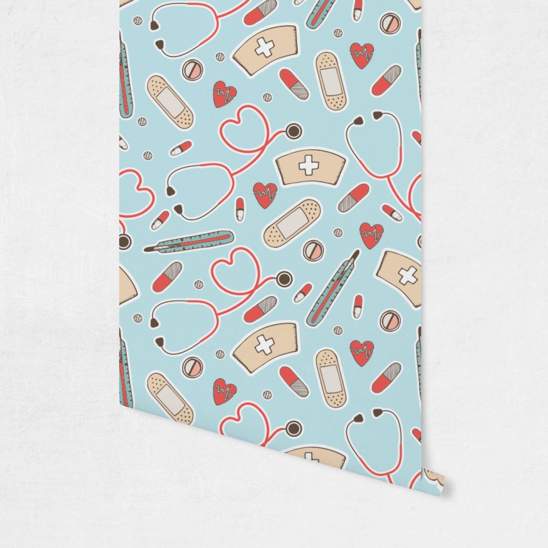 Nurse Wallpaper & Surface Covering