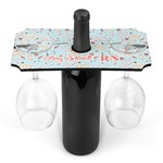 Nurse Wine Bottle & Glass Holder (Personalized)