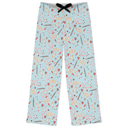 Nurse Womens Pajama Pants - XL (Personalized)