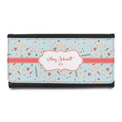 Nurse Leatherette Ladies Wallet (Personalized)