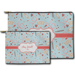 Nurse Zipper Pouch (Personalized)
