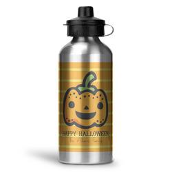 Halloween Pumpkin Water Bottle - Aluminum - 20 oz (Personalized)