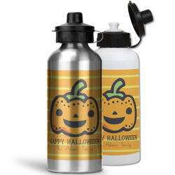 Halloween Pumpkin Water Bottles- Aluminum (Personalized)