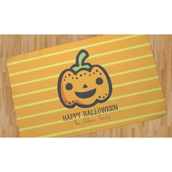 Halloween Pumpkin Area Rug (Personalized)