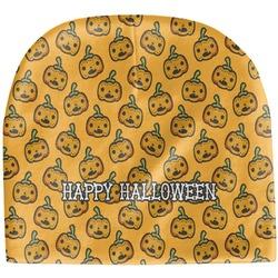 Halloween Pumpkin Baby Hat (Beanie) (Personalized)