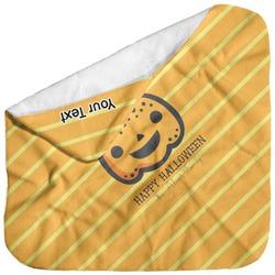 Halloween Pumpkin Baby Hooded Towel (Personalized)