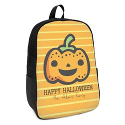 Halloween Pumpkin Kids Backpack (Personalized)