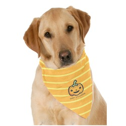 Halloween Pumpkin Pet Bandanas (Personalized)