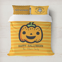 Halloween Pumpkin Duvet Covers (Personalized)