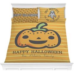 Halloween Pumpkin Comforter Set (Personalized)