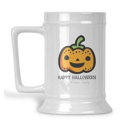 Halloween Pumpkin Beer Stein (Personalized)