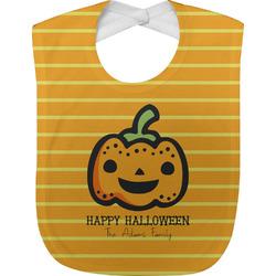 Halloween Pumpkin Baby Bib (Personalized)