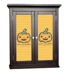 Halloween Pumpkin Cabinet Decal - Custom Size (Personalized)