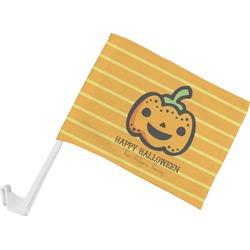 Halloween Pumpkin Car Flag (Personalized)
