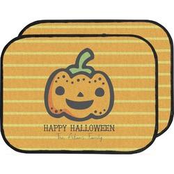 Halloween Pumpkin Car Floor Mats (Back Seat) (Personalized)