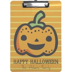 Halloween Pumpkin Clipboard (Personalized)