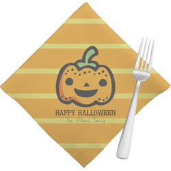 Halloween Pumpkin Napkins (Set of 4) (Personalized)