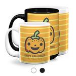 Halloween Pumpkin Coffee Mugs (Personalized)