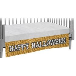 Halloween Pumpkin Crib Skirt (Personalized)