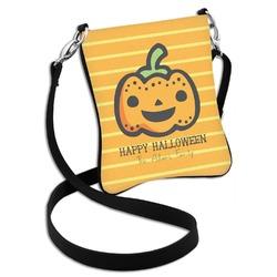 Halloween Pumpkin Cross Body Bag - 2 Sizes (Personalized)