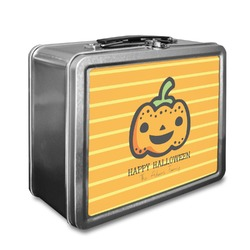 Halloween Pumpkin Lunch Box (Personalized)