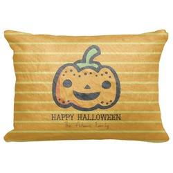 "Halloween Pumpkin Decorative Baby Pillowcase - 16""x12"" (Personalized)"
