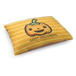 Halloween Pumpkin Dog Bed (Personalized)