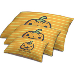 Halloween Pumpkin Dog Bed w/ Name or Text