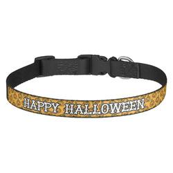 Halloween Pumpkin Dog Collar (Personalized)