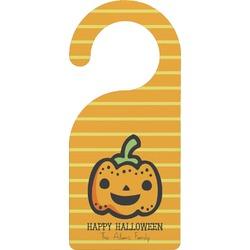 Halloween Pumpkin Door Hanger (Personalized)