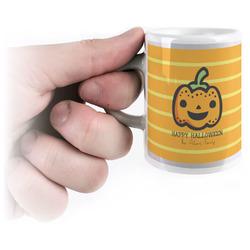 Halloween Pumpkin Espresso Mug - 3 oz (Personalized)