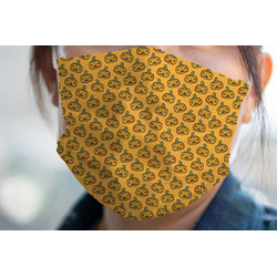 Halloween Pumpkin Face Mask Cover (Personalized)