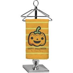 Halloween Pumpkin Finger Tip Towel - Full Print (Personalized)