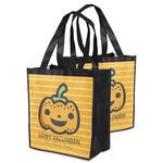 Halloween Pumpkin Grocery Bag (Personalized)