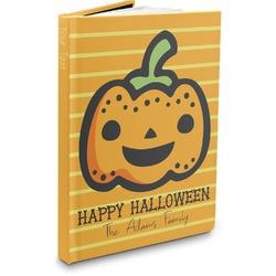 Halloween Pumpkin Hardbound Journal (Personalized)