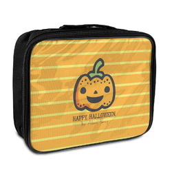 Halloween Pumpkin Insulated Lunch Bag (Personalized)