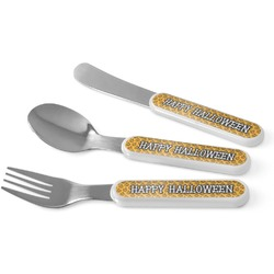 Halloween Pumpkin Kid's Cutlery (Personalized)