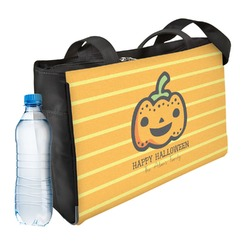 Halloween Pumpkin Ladies Workout Bag (Personalized)