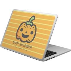 Halloween Pumpkin Laptop Skin - Custom Sized (Personalized)