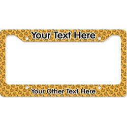 Halloween Pumpkin License Plate Frame (Personalized)