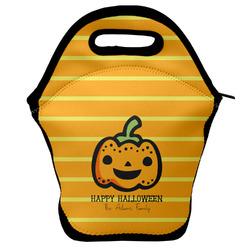 Halloween Pumpkin Lunch Bag (Personalized)