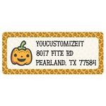 Halloween Pumpkin Return Address Labels (Personalized)