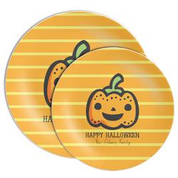 Halloween Pumpkin Melamine Plate (Personalized)