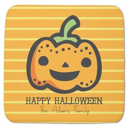 "Halloween Pumpkin Memory Foam Bath Mat - 48""x48"" (Personalized)"