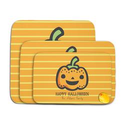 Halloween Pumpkin Memory Foam Bath Mat (Personalized)