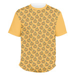Halloween Pumpkin Men's Crew T-Shirt (Personalized)
