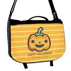 Halloween Pumpkin Messenger Bag (Personalized)