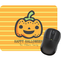 Halloween Pumpkin Mouse Pad (Personalized)